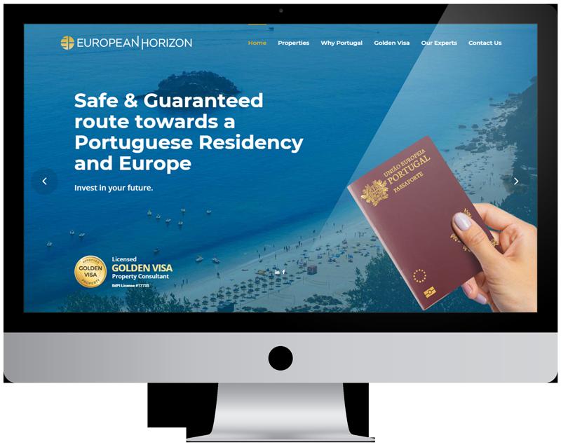 European Horizon website