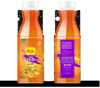 Zesta Ice Tea Peach bottle