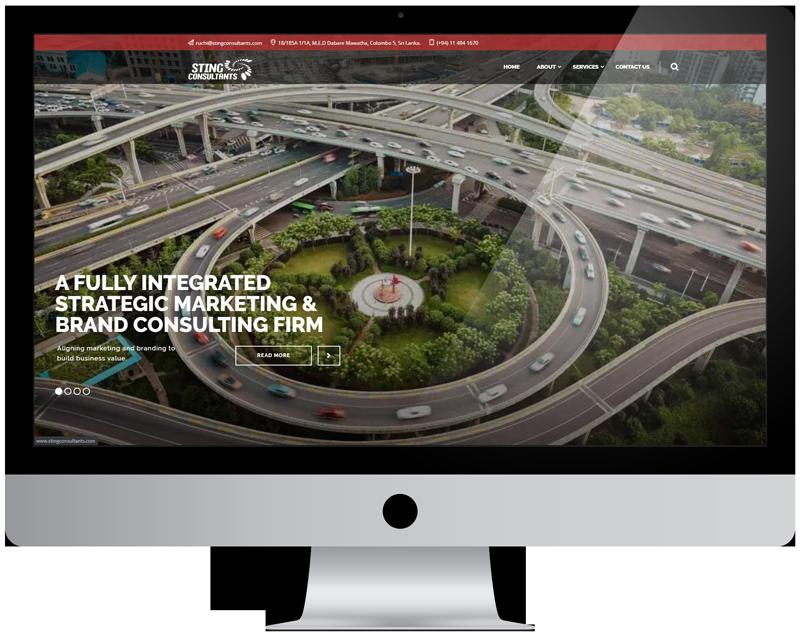 STING Consultants website